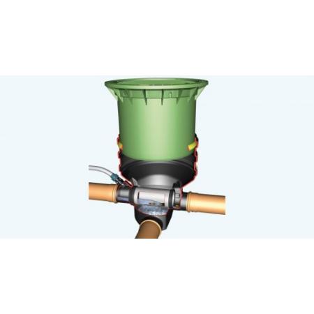Minimax-Filter Földbe építendő és esővízszűrő, gépkocsival járható