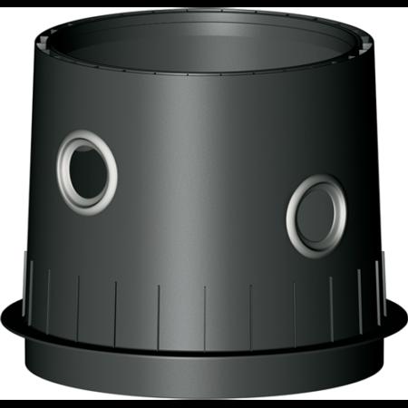 PLATIN /CARAT XL /XXL tankdom Maxi fekete, DN100-as bekötéssel