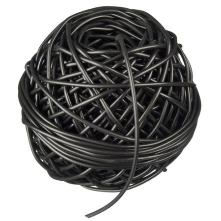 Kötöző 50 m (üreges)fekete 3 mm*