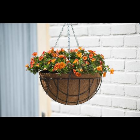 Virágtartó függőkosár kerek 25 cm*