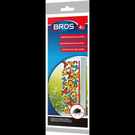 BROS légyfogó lap 5 db/csomag 10x32 cm