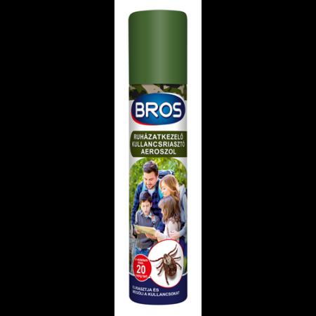 BROS kullancsriasztó aerosol ruhára 90 ml