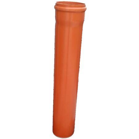 KG PVC Tokos cső, gumigyűrűs 125/1 m