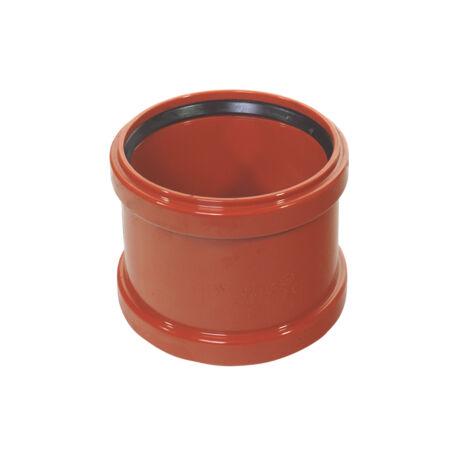 KG PVC tokos toldó idom, 2 tömítőgyűrűvel 125