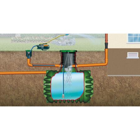 Cristall esővízgyűjtő tartály, 2650 l, Garten-Jet