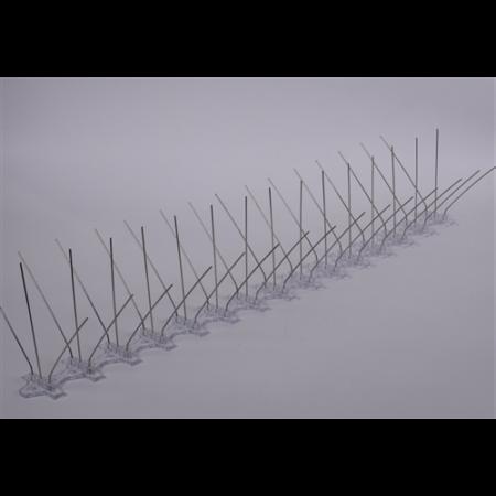 Párkányra Madárelriasztó acél tüske 2db/doboz