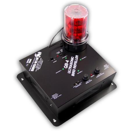 SUPER QUAD BLASTER beltéri ultrahanggal + villanó fény-adapterrel