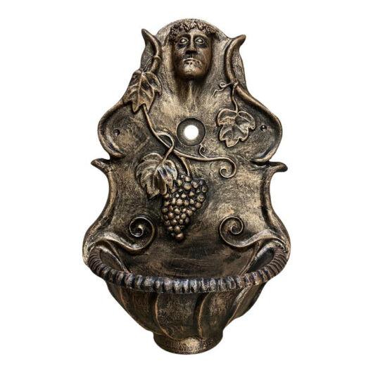 Kerti falikút Dioniz bronz