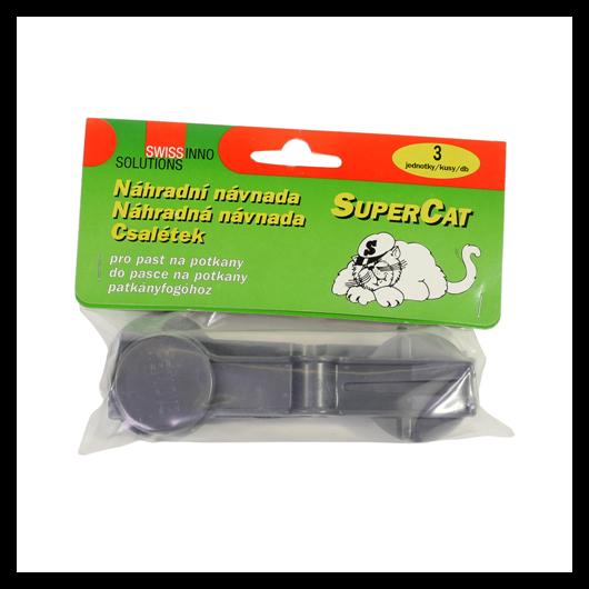 Kártevő kiegészítő Csali anyag SuperCat patkányfogóhoz (3db)