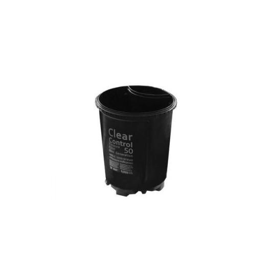 Clear Control 50 ház nyomás alatti készülékhez, szűrőfal és alsó ráccsal