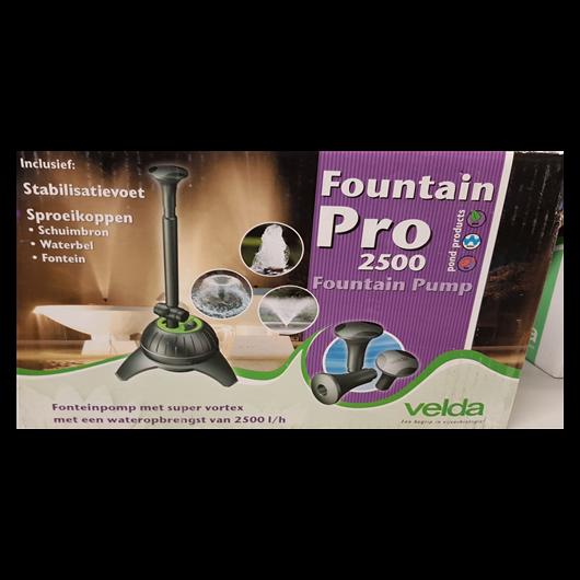 Tavi szivattyú Fountain Pro 2500 szökőkút pumpa