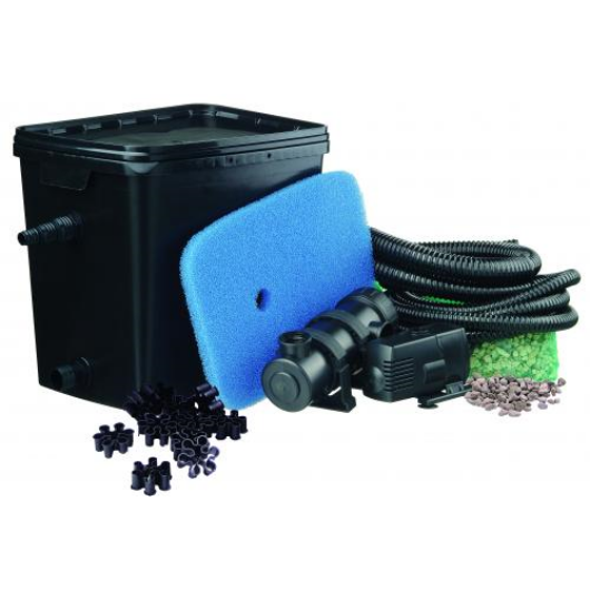 Tavi Gravitációs szűrő  FiltraPure 7000 szett, szűrő + Xtra 1600 pumpa + 11 W UV-C algamentesítő