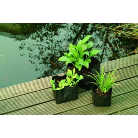 Vízinövény ültető tasak, négyszögletes 30 cm