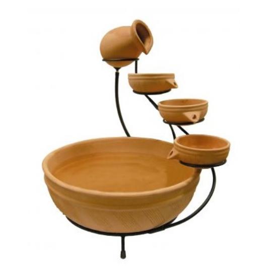 Kerti csobogó szett - Acqua Arte Terracotta Fountain Small