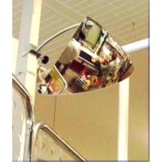 """Tükör pénztári """"ŐRSZEM"""" COM 333 (35x35x40 cm) domború felületű"""