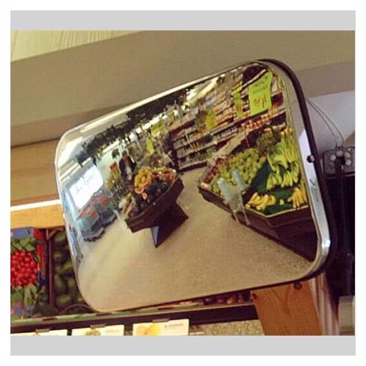 Tükör beltéri peremes (40 x 60 cm) MG(SS) 46