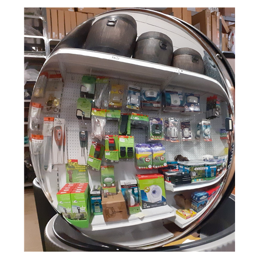 Tükör beltéri peremes (50 cm) SS50