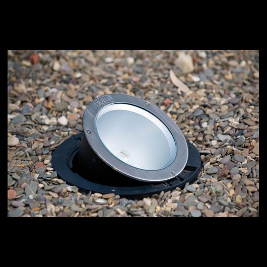Kerti világítás állítható, süllyesztett kültéri lámpa