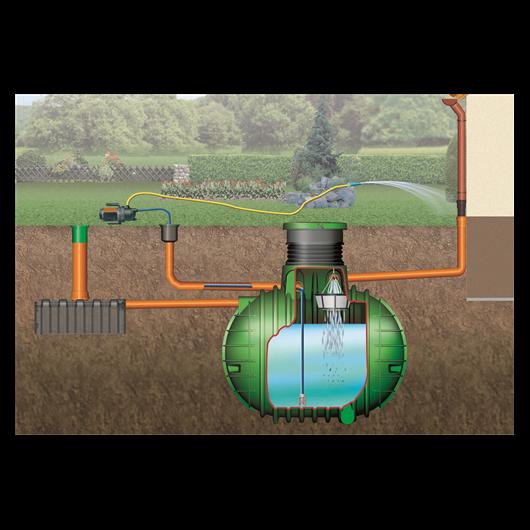 Columbus esővízgyűjtő tartály, 3700 l, Garten-Jet