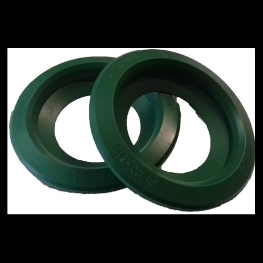 Tömítőgyűrű, DN100, zöld, Herkules esővízgyűjtő tartályhoz 2db/csomag