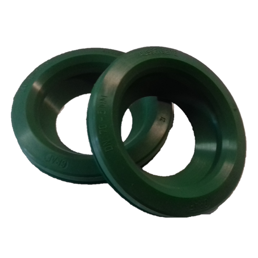 Tömítőgyűrű, DN70, zöld, Herkules esővízgyűjtő tartályhoz 2db/csomag