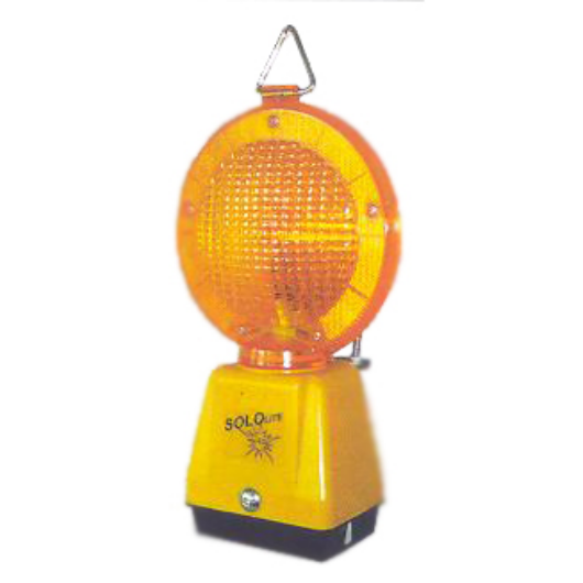 """Lámpa """"Őrszem"""" sárga Solilete LED"""