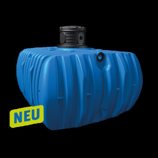 Flat L lapos esővízgyűjtő tartály, 5000 l, kék