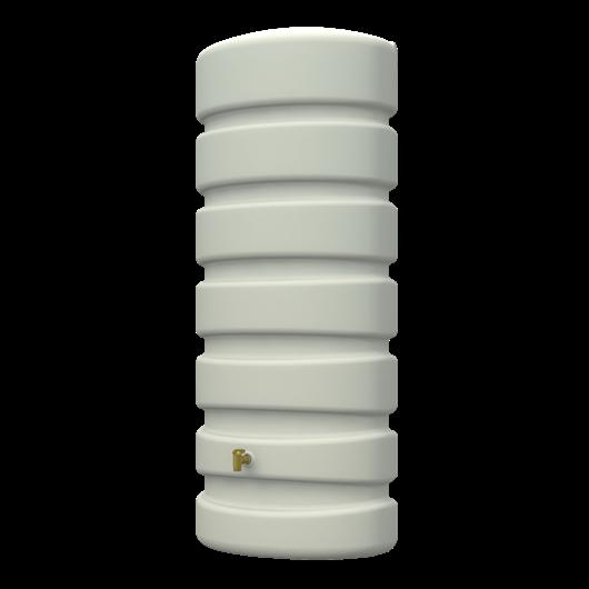 Classic fali esővízgyűjtő tartály, 650 l, homokbézs