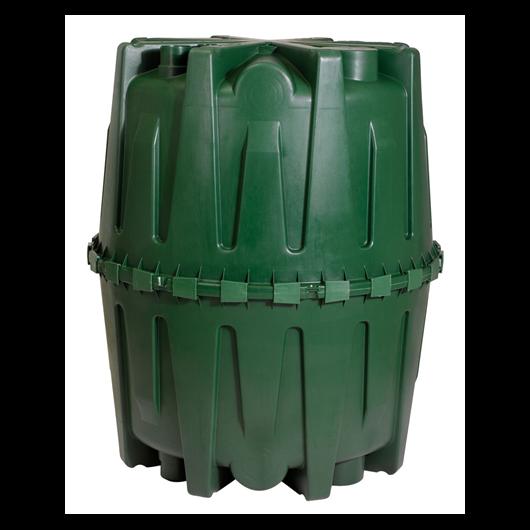 Herkules nagyméretű esővízgyűjtő tartály 1600 l, zöld