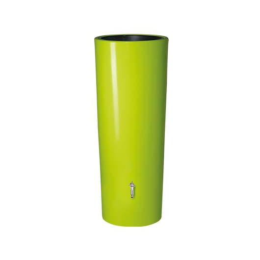 Color duplafunkciós esővízgyűjtő tartály, 350 l, almazöld