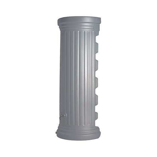 Oszlop fali esővízgyűjtő tartály, 550 l, kőszürke