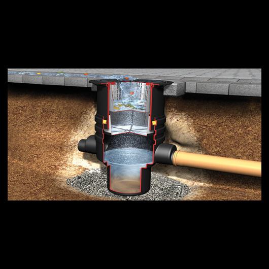 Szűrőakna - Felszíni csapadék víz elvezetéséhez, szűréséhez, gépkocsival járható tetővel