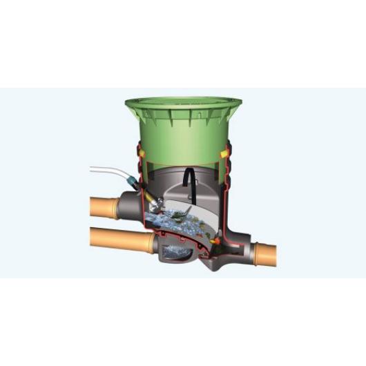 Optimax-Filter földbe építendő esővízszűrő, lépésálló