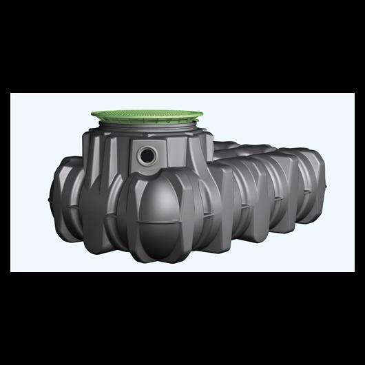 PLATIN lapos esővízgyűjtő tartály 5000 l