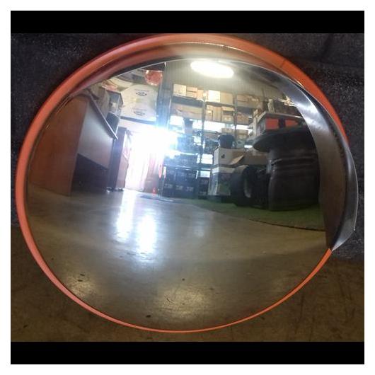Tükör kültéri 330 mm, acél INOX