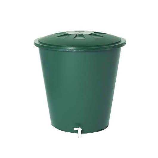 Esővízgyűjtő tartály kerek, 510 l, zöld