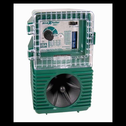 Madárriasztó készülék, hanghatással - Bird-X Peller Pro V1 No.35