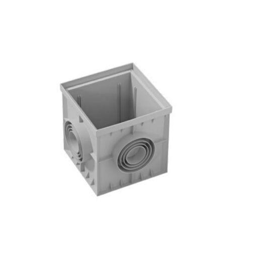 Monolit víznyelő akna, fedő nélkül - 400 x 400 mm