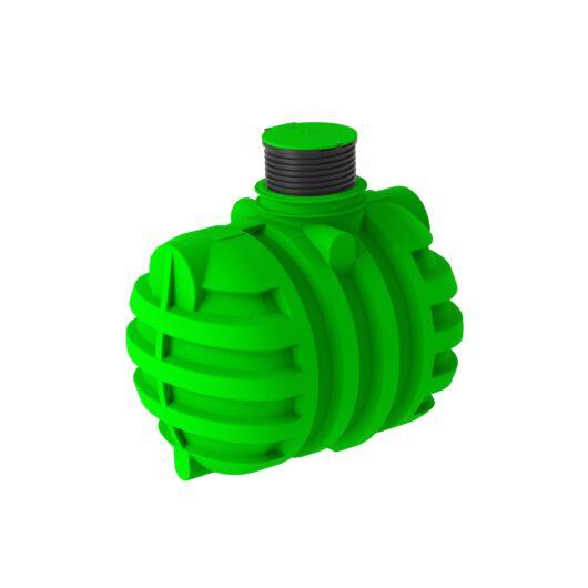 ROTERRA esővízgyűjtő tartály 5000 liter komplett, hosszabbítónyakkal és lépésálló tetővel