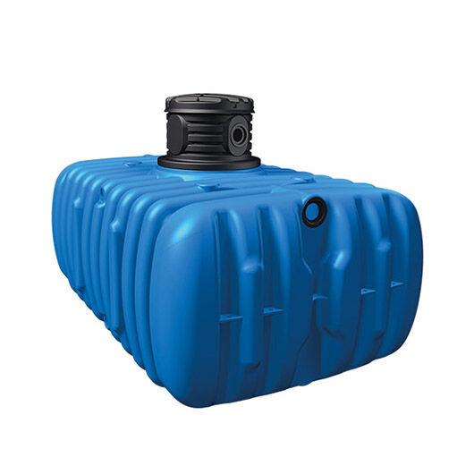 Flat S földalatti lapos esővízgyűjtő tartály, 1500 l, kék