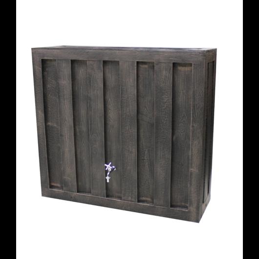 Rainbox fali esővízgyűjtő tartály 300l, fa barna - sunikft.hu