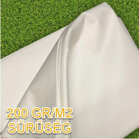 Geotextília 200 gr/m2, 2x5 méter - 10 m2/csomag (fehér)