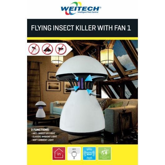Repülő rovarirtó ventilátorral