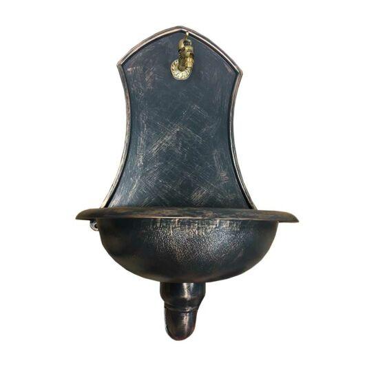 Kerti falikút SATURN, bronz színű