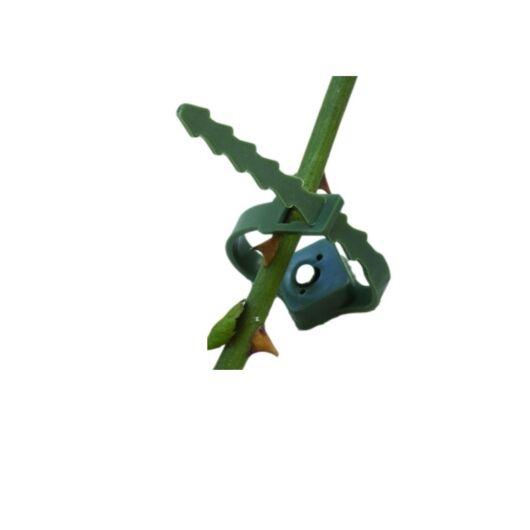 Növény rögzítő, zöld 6 db*