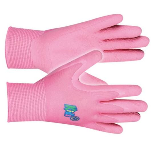 Kerti Kesztyű gyerek rózsaszín, 5-8 éveseknek