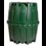 Kép 1/8 - Herkules nagyméretű esővízgyűjtő tartály 1600 l, zöld