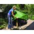 Kép 1/4 - Kerti bútortakaró, asztaltakaró köralakú 90x205 cm, zöld*