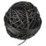 Kép 2/4 - Kötöző 50 m (üreges)fekete 3 mm*