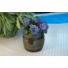 Kép 2/3 - Virágláda hordó mintázatú, 30x32 cm
